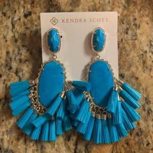 NWT Blue Cristina Kendra Scott Earrings